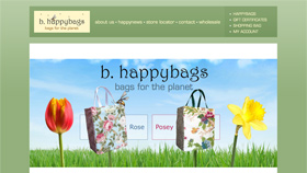 b. happybags redesign