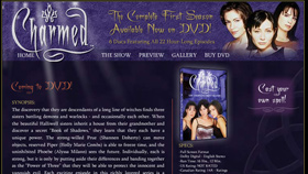 Charmed DVD Minisite/Tool