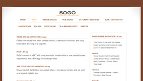 SOGO Website